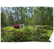 Wedding Garden At Cypress Gardens Poster