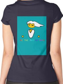 Be the master race! Women's Fitted Scoop T-Shirt