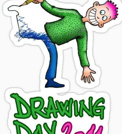 Drawing day 2011 Sticker