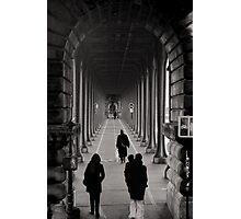 Parisian Walkway Photographic Print