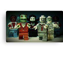 The Monster Squad Canvas Print