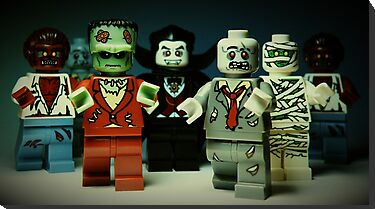 The Monster Squad by smokebelch