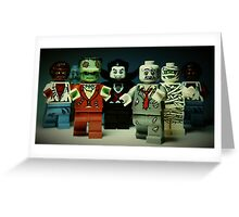 The Monster Squad Greeting Card