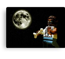 Howlin' at the Moon Canvas Print