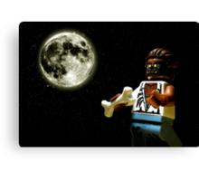 Howlin' at the Moon Canvas Print