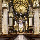 Duomo di Milano Interior by Bruno Beach