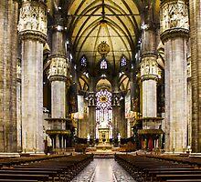 Duomo di Milano Interior by Atanas Bozhikov NASKO