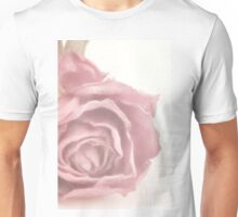 Soft Pink Dried Rose Unisex T-Shirt