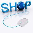 Web Shop - 3D render by Atanas Bozhikov NASKO