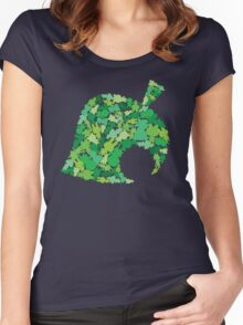 Animal Crossing New Leaf  Women's Fitted Scoop T-Shirt