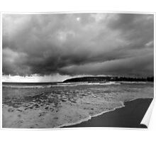 Storm Looming, Manly, Sydney, NSW, Australia Poster