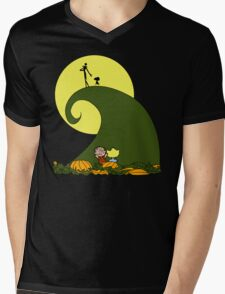 The Great Pumpkin King Mens V-Neck T-Shirt