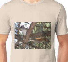 Squirrel Playfulness Unisex T-Shirt