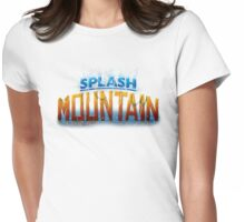 Splash Mountain Womens Fitted T-Shirt