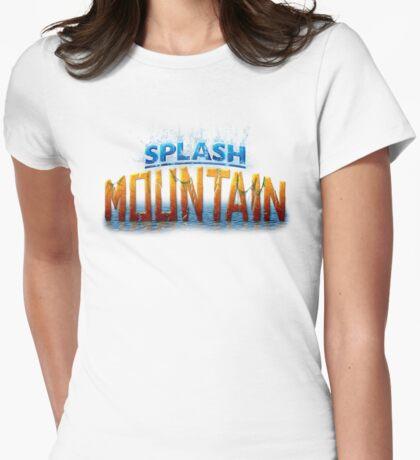 Splash Mountain Womens Fitted T-Shirt