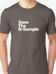 save the b sample Unisex T-Shirt