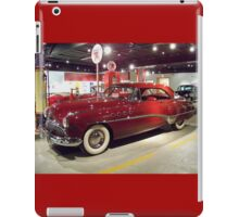 Shiney Red Buick iPad Case/Skin