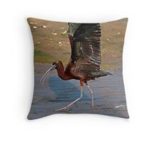 Strutting the Stuff Throw Pillow