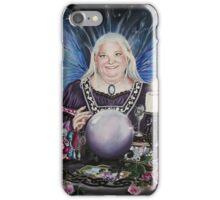 Good fairy faerie,fortune teller,tarot fantasy iPhone Case/Skin