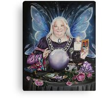 Good fairy faerie,fortune teller,tarot fantasy Canvas Print