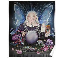 Good fairy faerie,fortune teller,tarot fantasy Poster