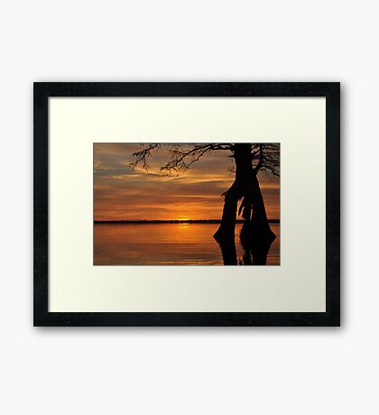 Closing a Chapter Framed Print