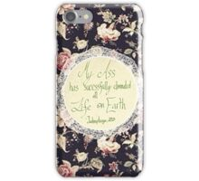 The Deadliest Plague of Them All iPhone Case/Skin