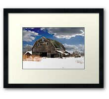 Another Day At The Barn Framed Print