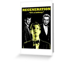 Regeneration Greeting Card