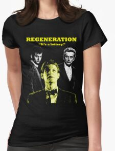 Regeneration Womens Fitted T-Shirt