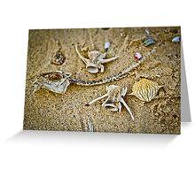 Sea Skeletons Greeting Card