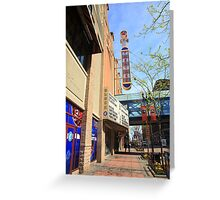 Minneapolis - Theater District Greeting Card