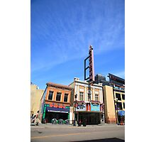 Minneapolis - Bar and Theater Photographic Print