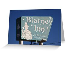Route 66 - Blarney Inn Greeting Card