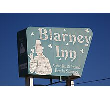 Route 66 - Blarney Inn Photographic Print