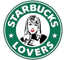 Starbucks Lovers - Taylor Swift Photographic Print