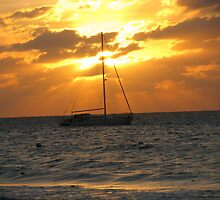 The Good Life - Sunset in Jamaica by Mellisa Wagner