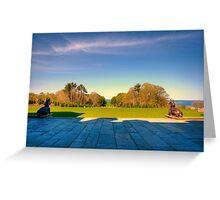Rolling Hills at Crane Estate Greeting Card
