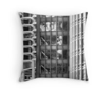Marina Towers, IBM Building, Trump Tower Throw Pillow