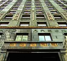 Carbide & Carbon Building, Daniel & Hubert Burnham, Chicago by Crystal Clyburn