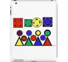 Abstract Design 184J iPad Case/Skin