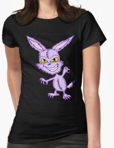 Evil Bunny Womens Fitted T-Shirt