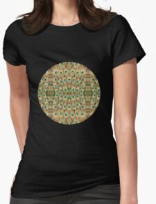 Mystic Peacock Womens Fitted T-Shirt