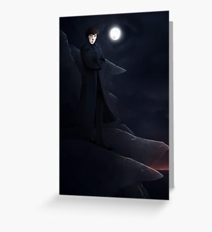 man on the tor Greeting Card