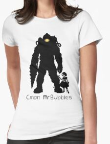 Cmon Mr.bubbles Womens Fitted T-Shirt