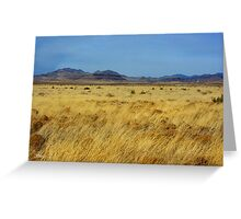 Table Butte ~ Southwest New Mexico Greeting Card
