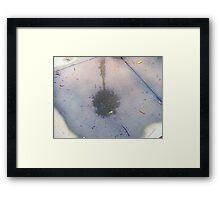 i can still see our dreams after the rain has washed the world away Framed Print