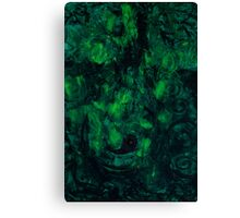 Deep Green Thoughts  Canvas Print