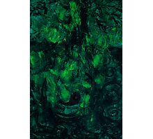 Deep Green Thoughts  Photographic Print