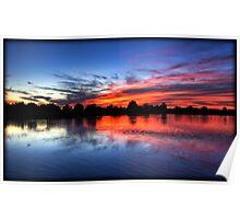 Serene Sunset Poster